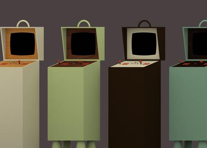 Pixelkabinett Arcade Machine