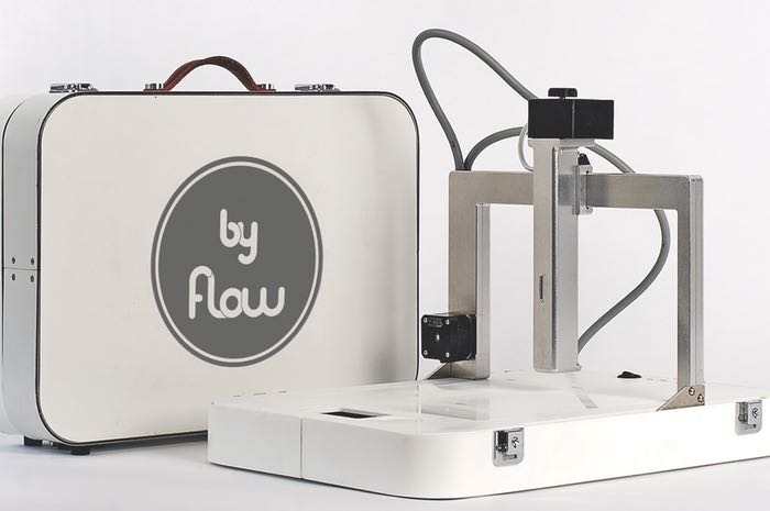 Focus Portable 3D Printer Unveiled By Flow (video)