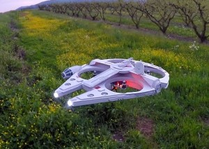 RC Millennium Falcon Drone