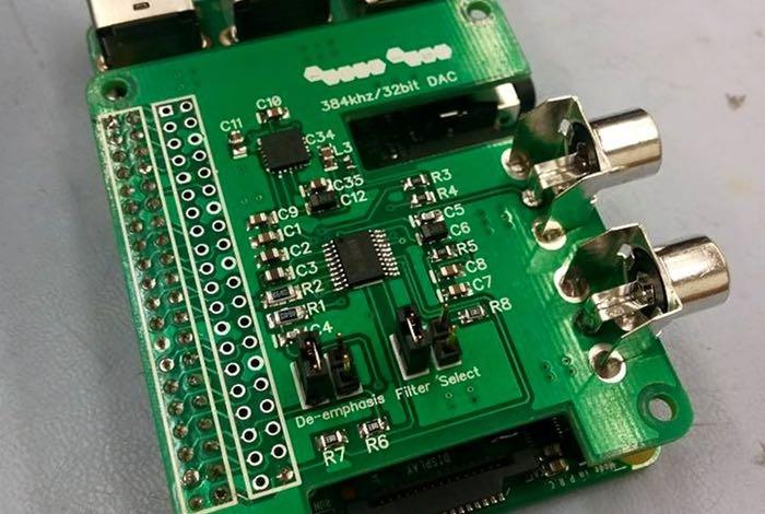 Raspberry Pi DAC