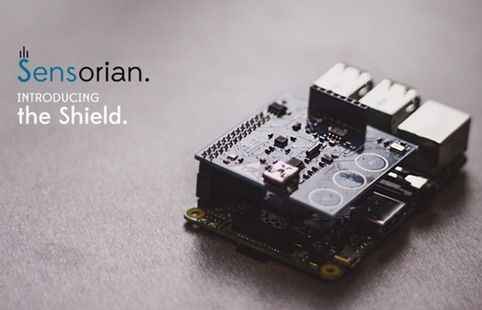 Raspberry Pi Sensorian Shield