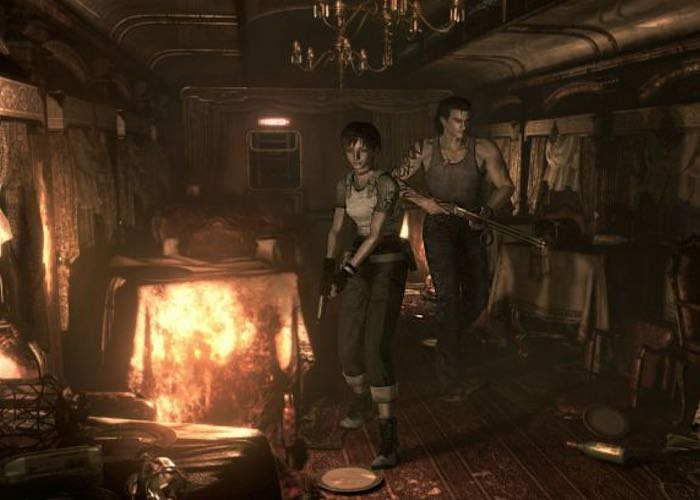 Resident Evil Zero Remaster Edition