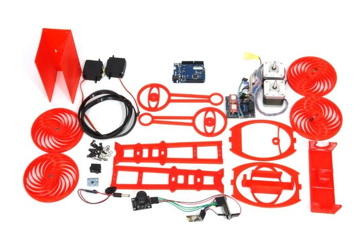 Roby Educational Robotic Platform