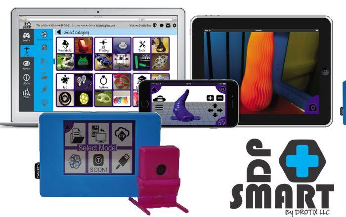 SMART+3DP 3d printing