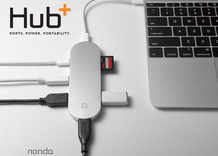 Hub Usb C Hub Card Reader Display Port And More