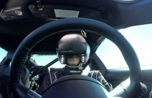 Castrol EDGE Drift Course Completed Wearing Virtual Reality Helmet (video)