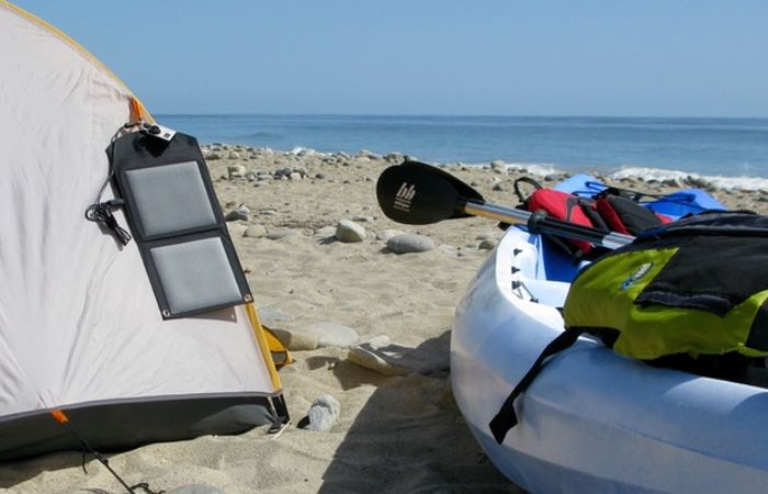 Waterproof USB Solar Charger