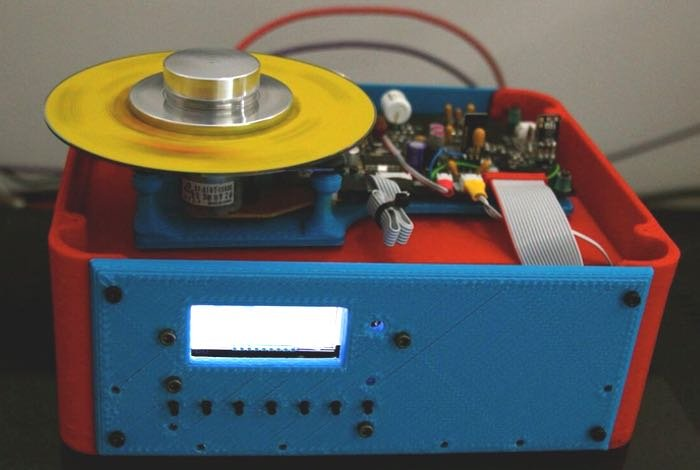 World's First 3D Printed Ultra High-End CD Player