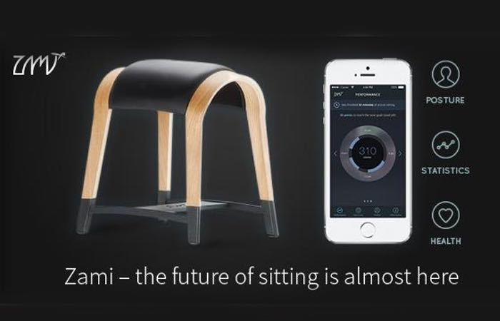 Zami Life Smartphone Connected Smart Seat Video