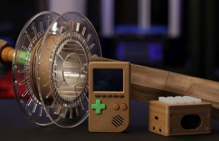 BambooFill Wood 3D Printing Filament Demonstrated (video)