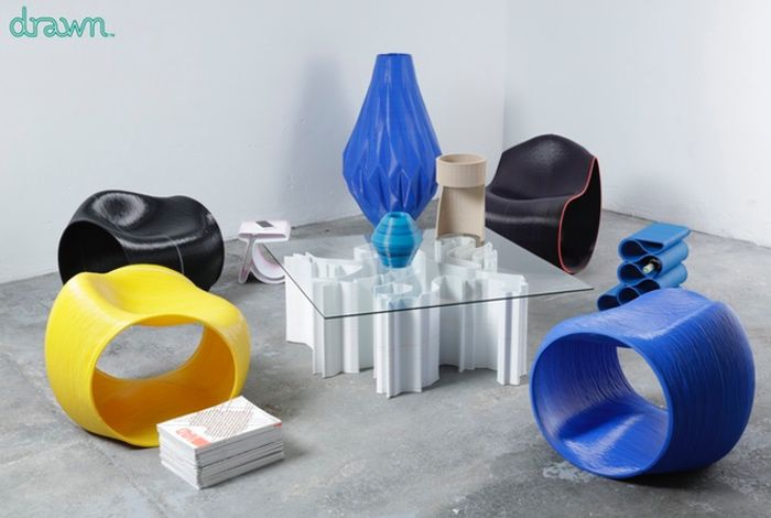 3D Printed Designer Furniture Unveiled By Drawn