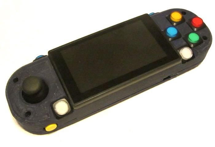 3D Printed PSP PiStation Portable