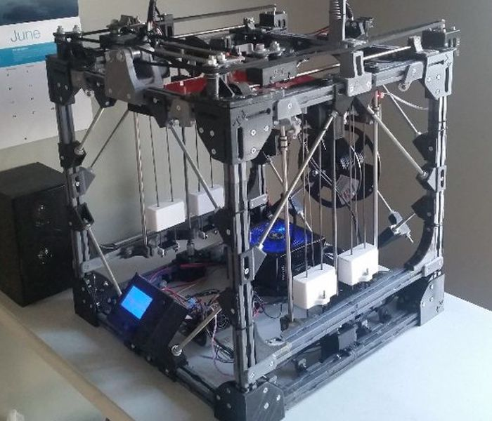 Project locus 3d printer created using a 3d printer video for When was 3d printing invented
