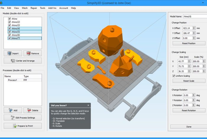 3D Printer Operating System