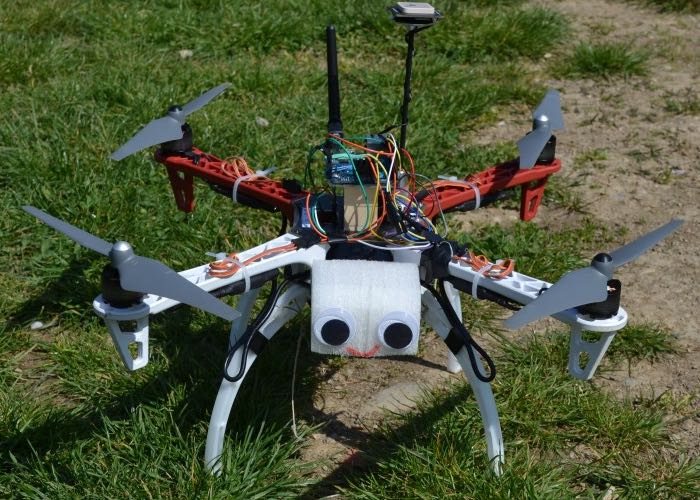 Arduino quadcopter built using yun development