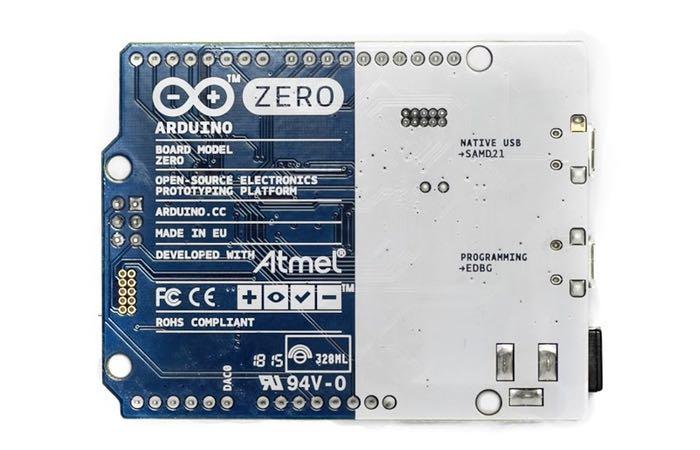 Arduino Zero Back
