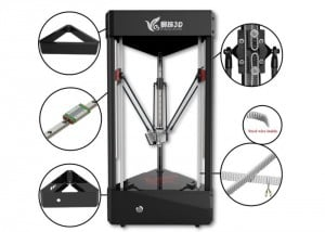 Ares All-In-One 3D Printer