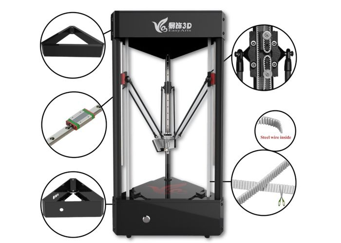 Ares All-In-One 3D Printer, Scanner And CNC Machine Launches On Indiegogo For $399 (video)