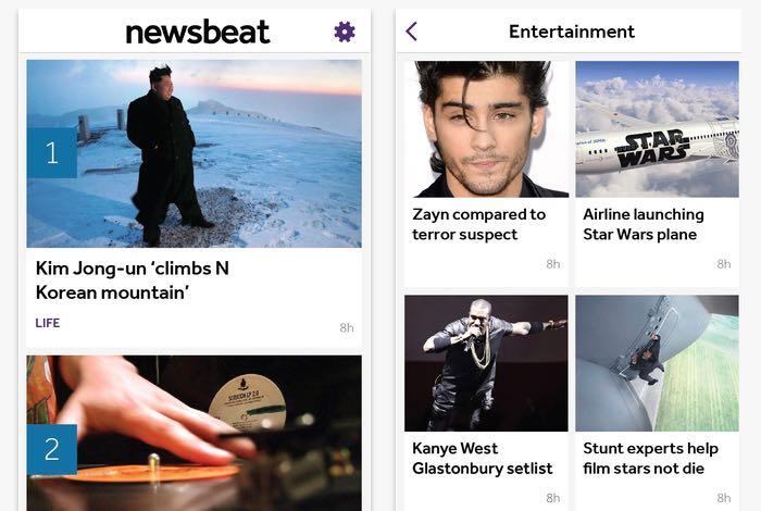 BBC Newsbeat App