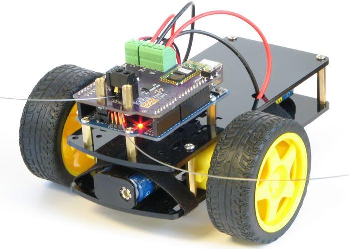 BumbleBeeBot Educational Robot Kit