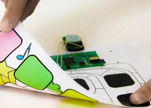 CreatorKit PrintedTouch Conductive Ink Stickers (video)