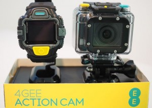 EE Live Streaming 4G Action Camera Unveiled