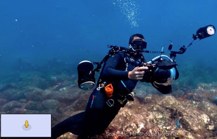 Google Street View Oceans