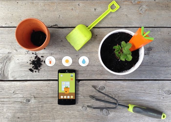 Grüt Plant And Gardening Sensor Kit For Kids (video)