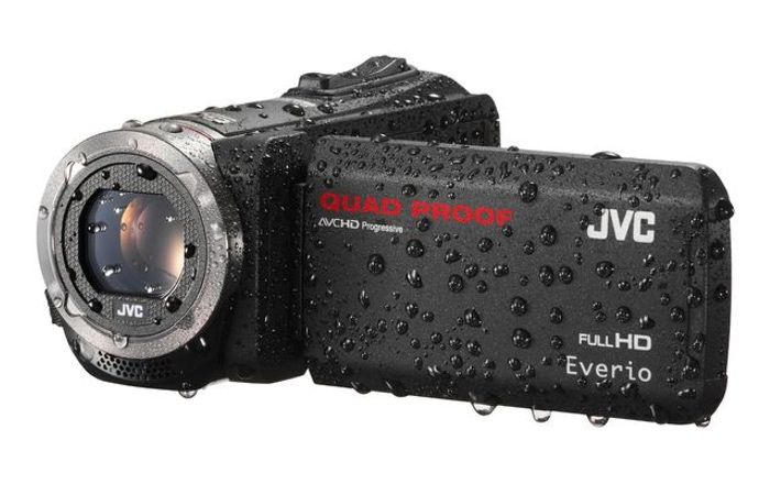 New JVC Rugged Quad Proof Everio