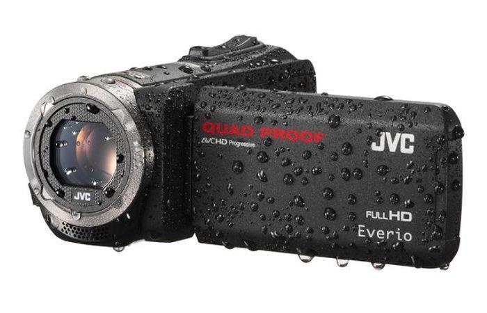 New JVC Rugged Quad Proof Everio
