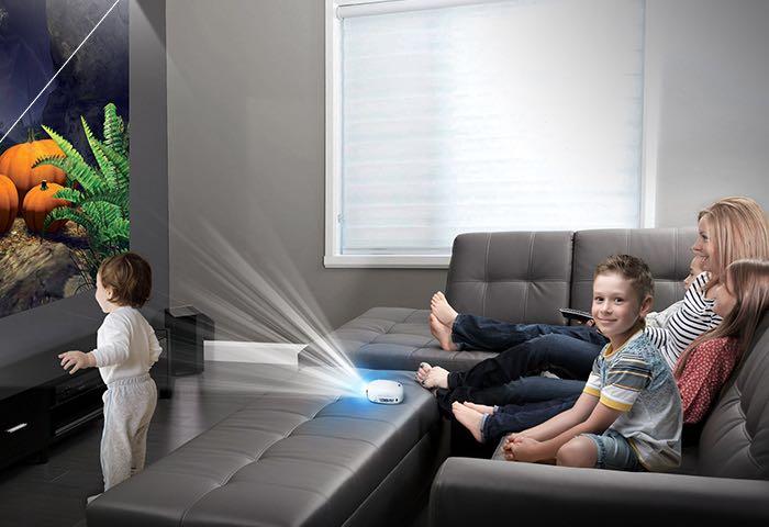 LG PV150G minibeam projector