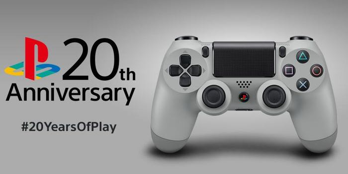 Limited Edition Dualshock 4 20th Anniversary Edition