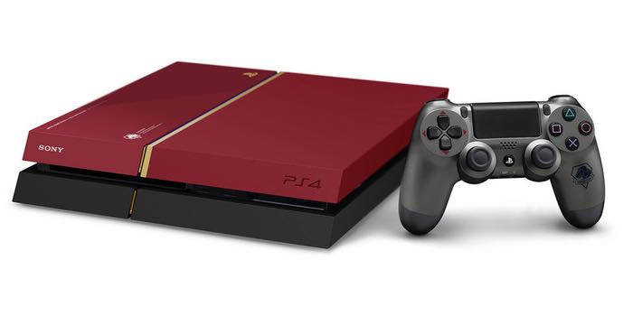 Metal gear solid 5 limited edition playstation 4 console unveiled - Ps3 limited edition console ...