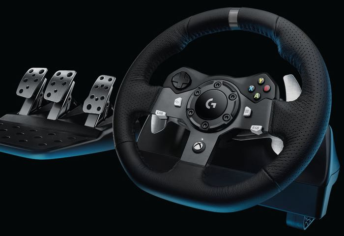 new logitech steering wheels for pc ps4 and xbox one confirmed. Black Bedroom Furniture Sets. Home Design Ideas
