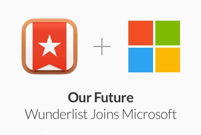 Microsoft Buys Wunderlist