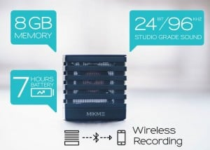 Mikme Wireless Recording Microphone Launches On Indiegogo (video)