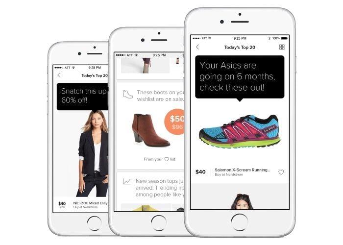 Mona personal shopper app