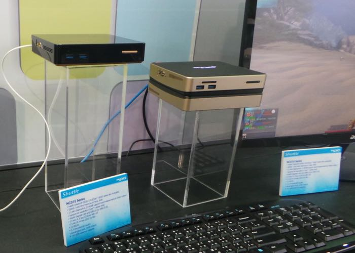 New Shuttle NUC-style Mini PCs Showcased At Computex 2015