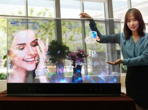 Samsung Mirror And Transparent OLED Displays Unveiled