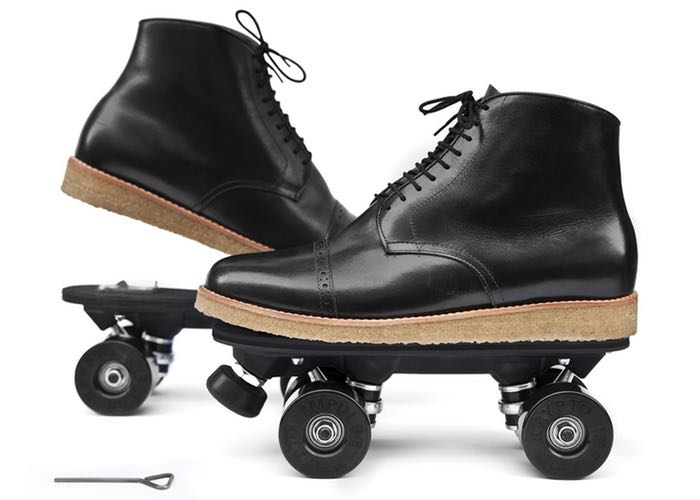 On Wheelz Clip-On Skates
