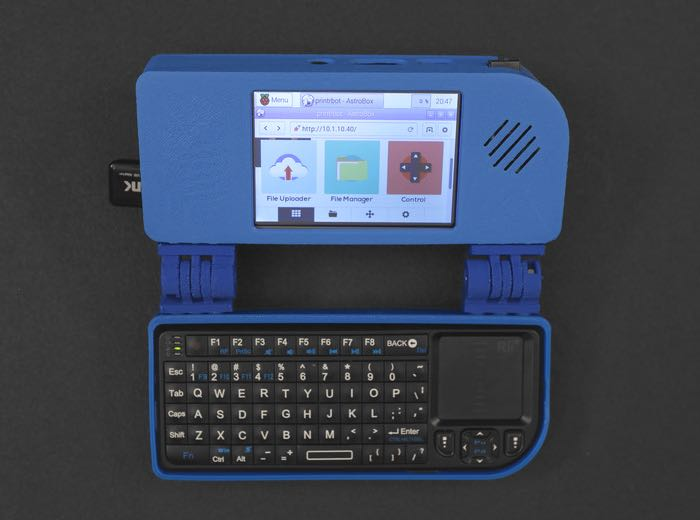 Raspberry Pi Mini Handheld Notebook