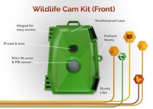 Raspberry Pi Naturebytes Wildlife Camera Kit (video)
