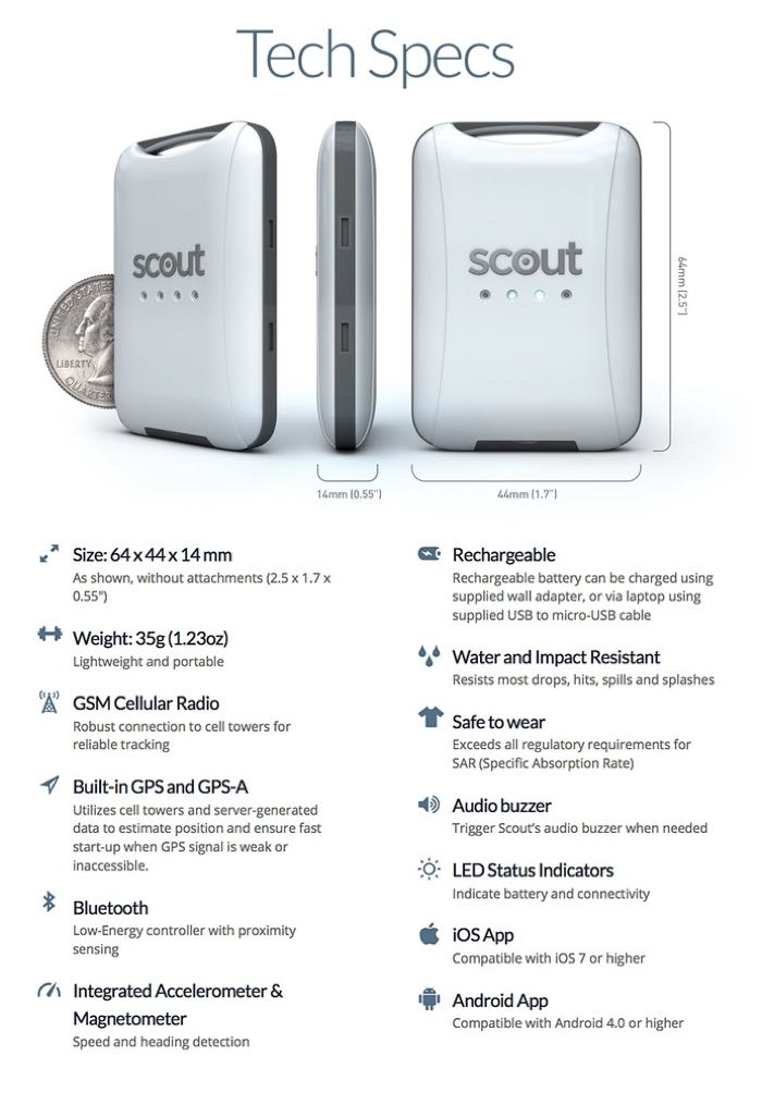 Gps Tracking Device For Cars >> Scout The Small Yet Mighty Smart GPS Tracker (video)