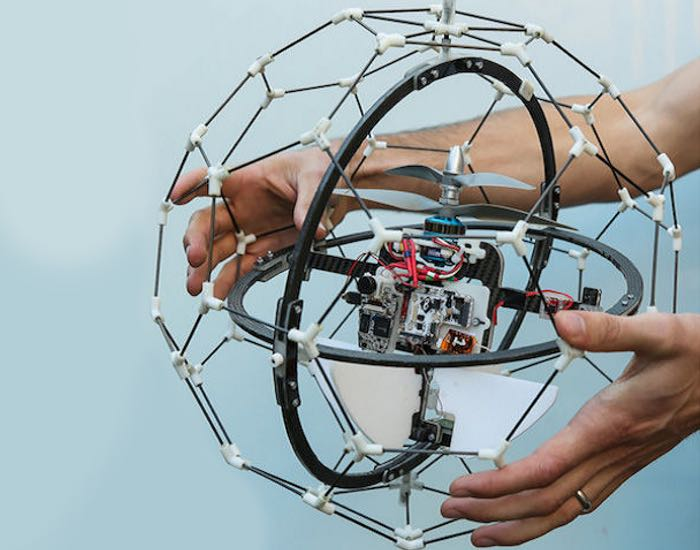 Spherical Flying Copter Inspired By The Movies