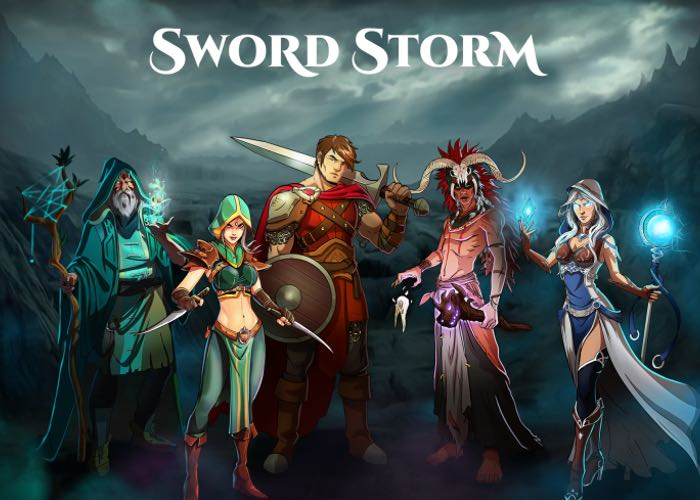 Sword Storm Collective Card Game