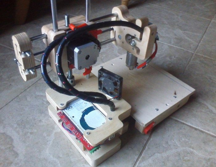 Trint 3D Printer Built Using Plywood For $200