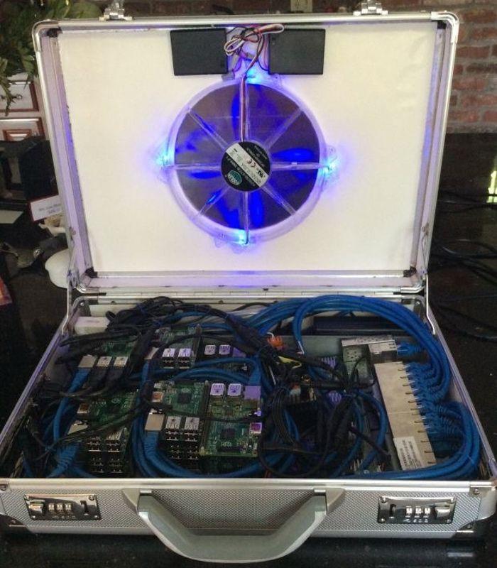 UltraPi Raspberry Pi 2 Super Computer