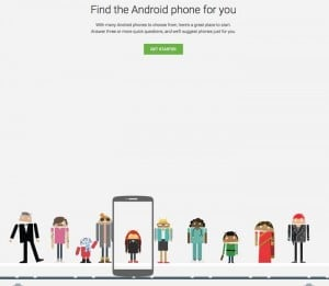 Google Helps You Pick An Android Smartphone With New Tool