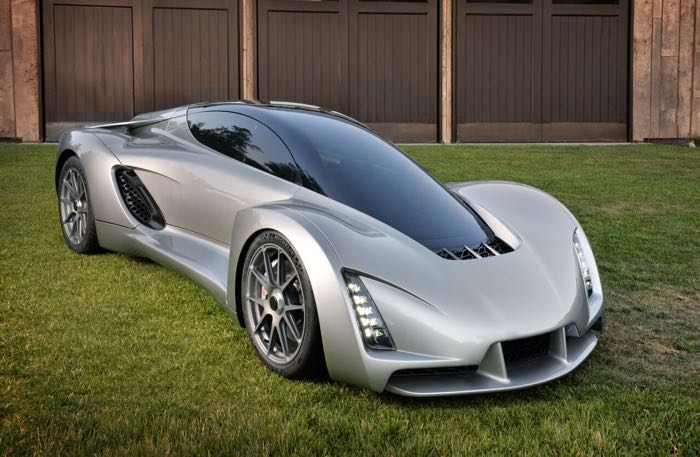 The Divergent Blade Is The World's First 3D Printed Supercar