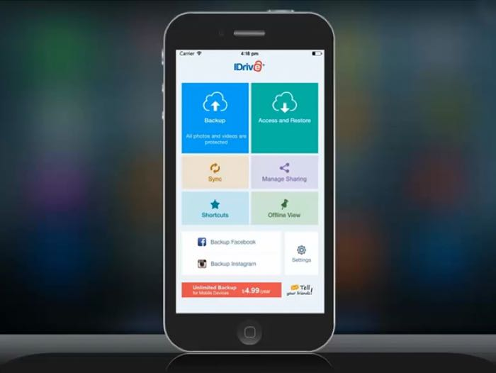 iDrive-Unlimited-Mobile-Backup1